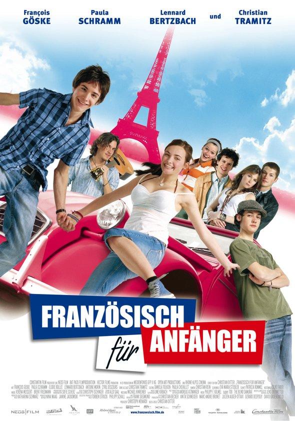 Französisch für Anfänger Poster