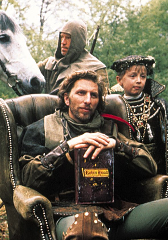 Friedrich und der verzauberte Einbrecher Poster