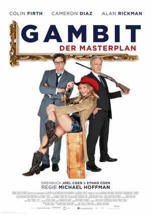 Gambit - Der Masterplan Poster