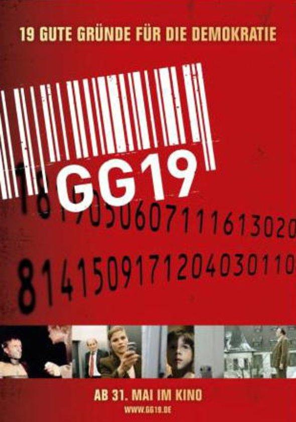 GG 19 - 19 gute Gründe für die Demokratie Poster