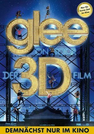 Glee on Tour - Der 3D Film Poster