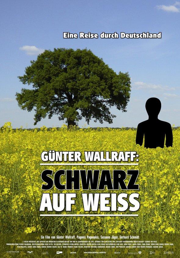 Günter Wallraff: Schwarz auf Weiß Poster