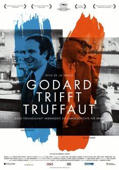 Godard trifft Truffaut - Deux de la Vague Poster