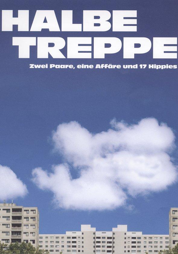 Halbe Treppe Poster