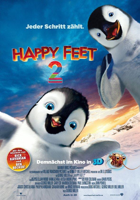 Happy Feet 2 Poster