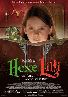 Hexe Lilli - Der Drache und das magische Buch Poster