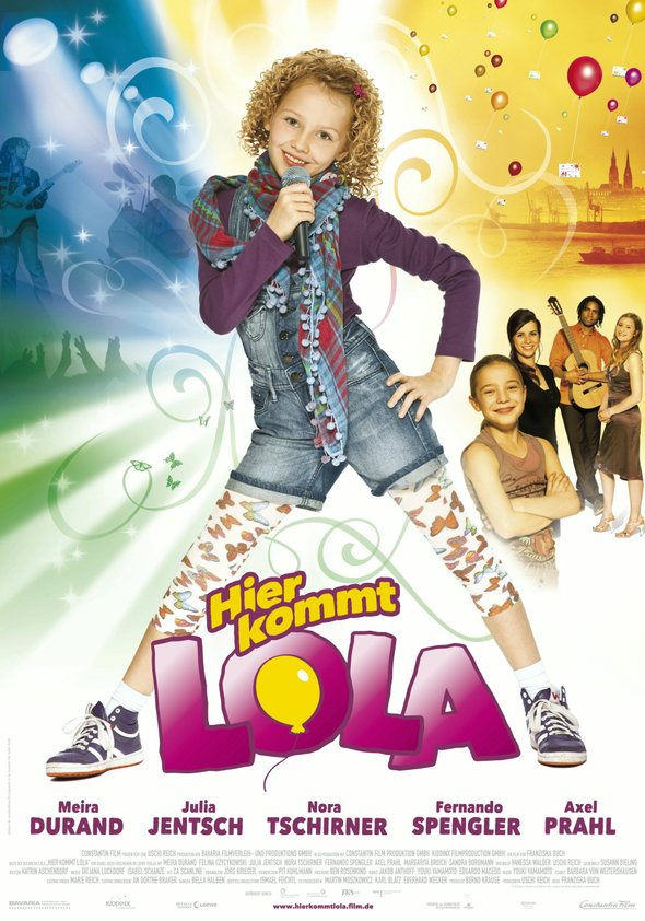 Hier kommt Lola Poster