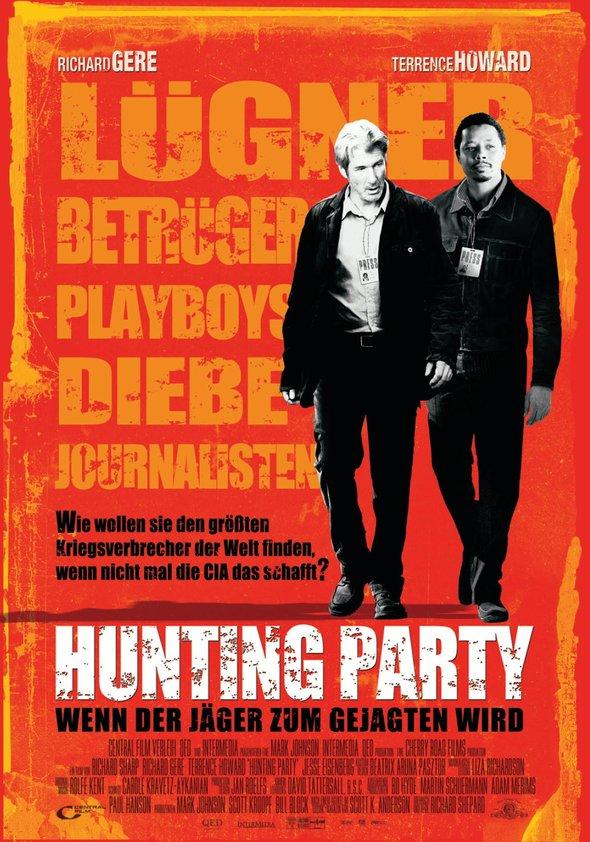 Hunting Party - Wenn der Jäger zum Gejagten wird Poster