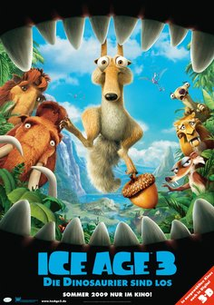 Ice Age 3 - Die Dinosaurier sind los Poster