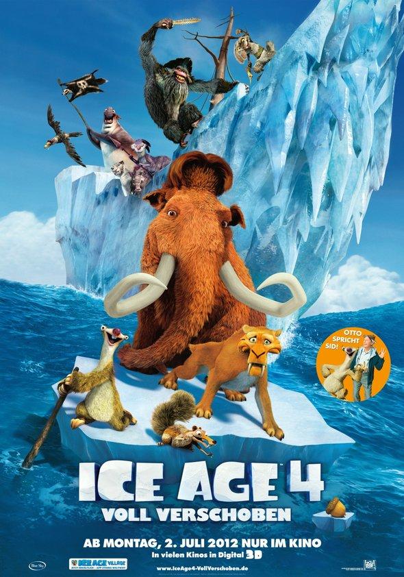 Ice Age 4 - Voll verschoben Poster
