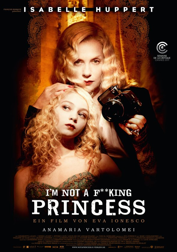 I'm Not a F**king Princess Poster
