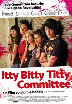 Itty Bitty Titty Committee Poster