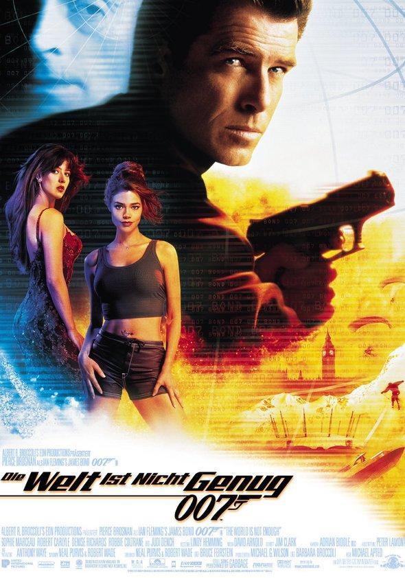 james bond 007 die welt ist nicht genug film 1999. Black Bedroom Furniture Sets. Home Design Ideas