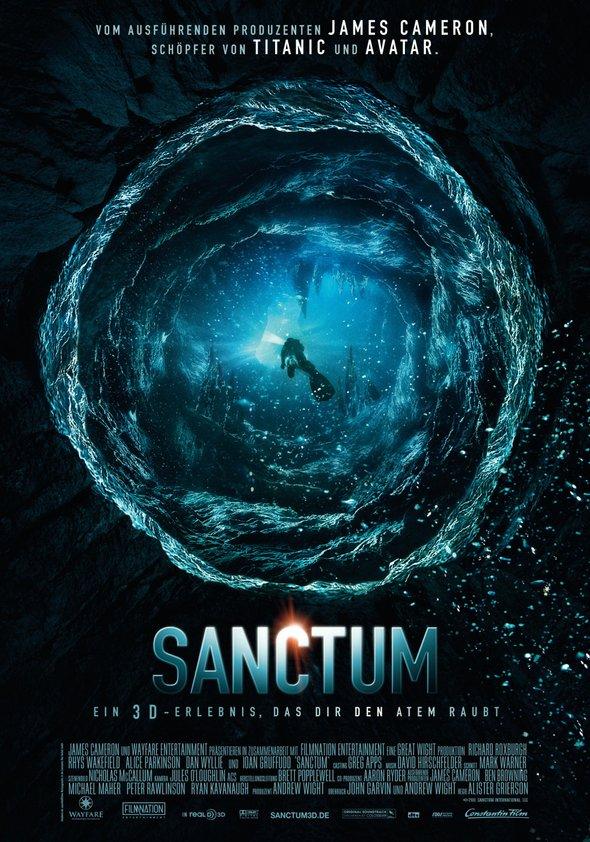 James Cameron's Sanctum 3D Poster