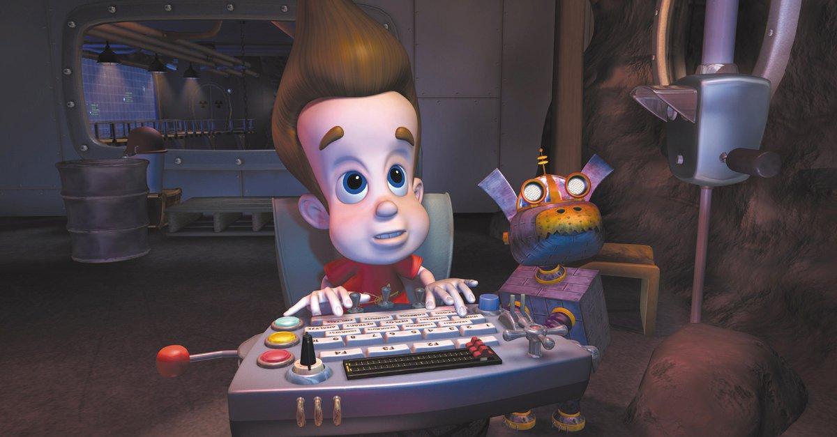 Jimmy neutron der mutige erfinder film 2001 trailer for Erfinder der sms