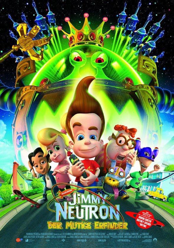 Jimmy Neutron - Der mutige Erfinder Poster