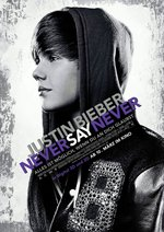 Justin Bieber - Never Say Never Poster