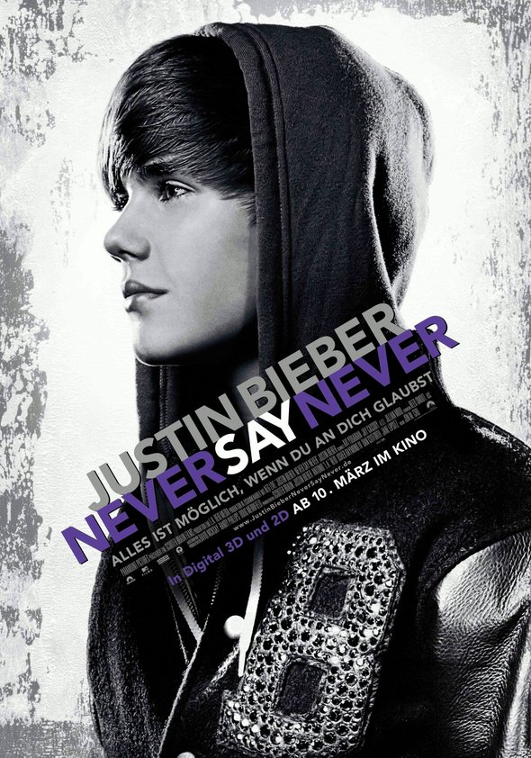 Justin Bieber - Never Say Never Poster