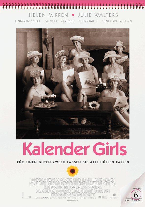 Kalender Girls Poster