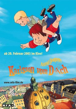 Karlsson vom Dach Poster