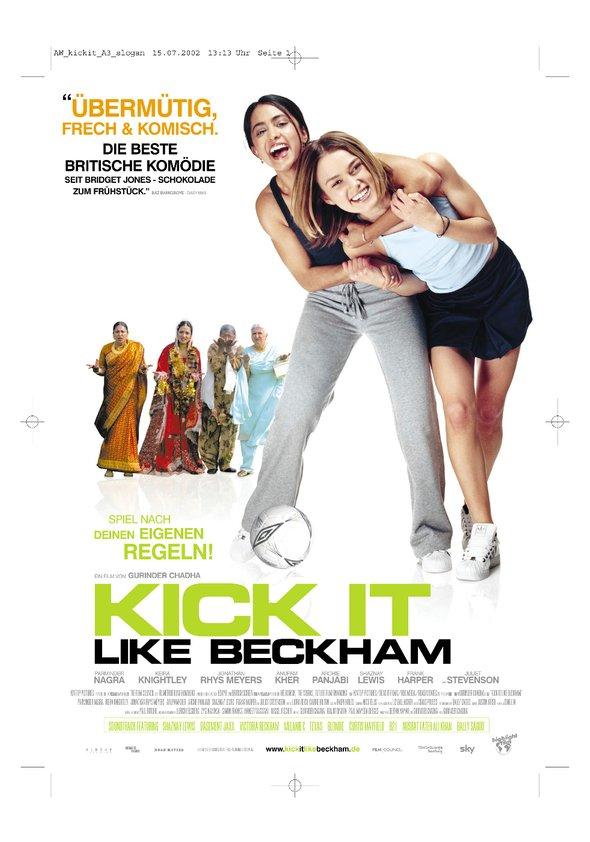 Kick It Like Beckham Poster