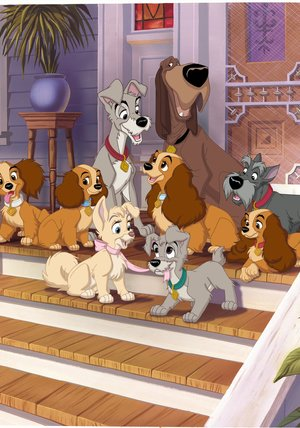Lady and the Tramp / Lady and the Tramp II: Scamp's Adventure Poster