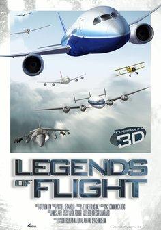 Legenden der Luftfahrt 3D Poster