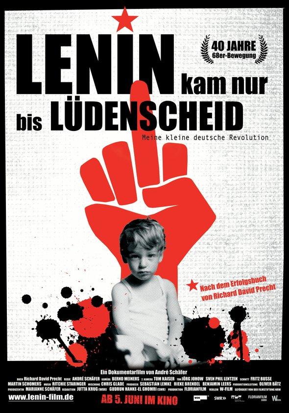 Lenin kam nur bis Lüdenscheid Poster