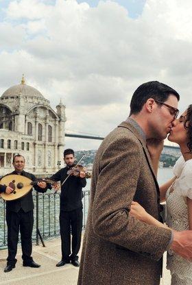 Liebeskuss am Bosporus
