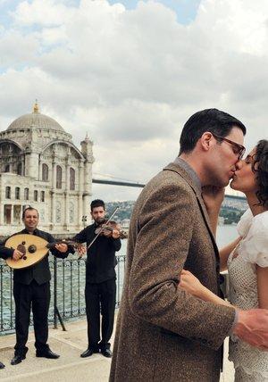Liebeskuss am Bosporus Poster