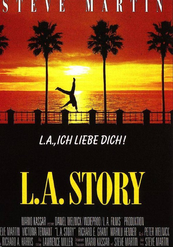 Los Angeles, Ich Liebe Dich Poster