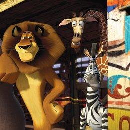 Madagascar 3: Flucht durch Europa - Trailer Poster