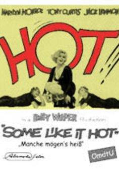 Manche mögen's heiß Poster