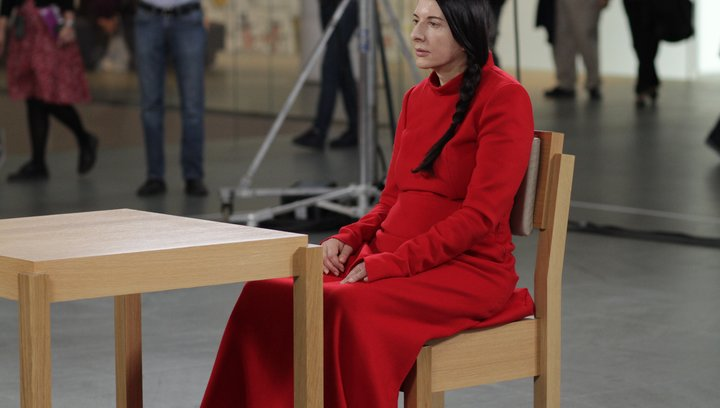 Marina Abramovic: The Artist Is Present - Trailer Poster