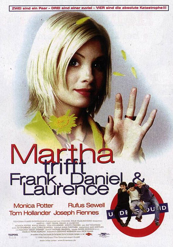 Martha trifft Frank, Daniel und Laurence Poster