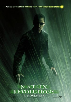 Matrix Revolutions Poster