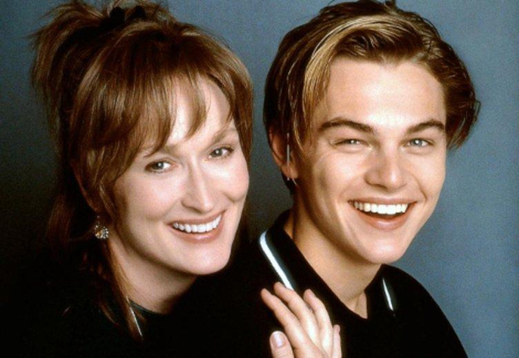 """Meryl Streep und Leonardo DiCaprion in """"Marvins Töchter"""" (1996) © Kinowelt"""