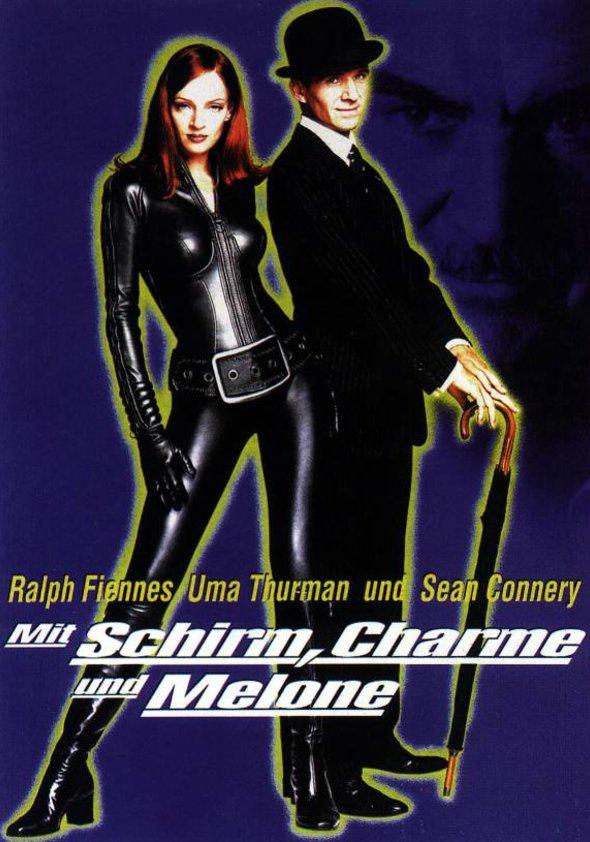 Mit Schirm, Charme und Melone Poster