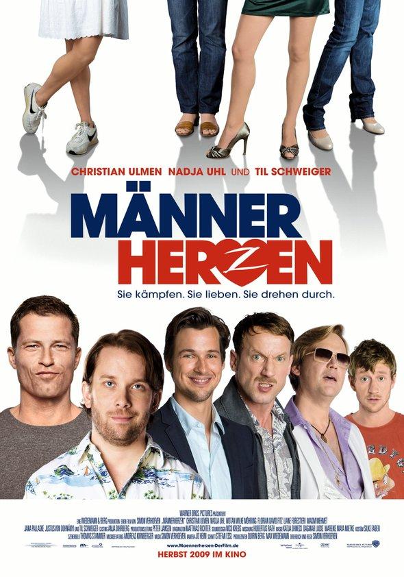 Männerherzen Poster