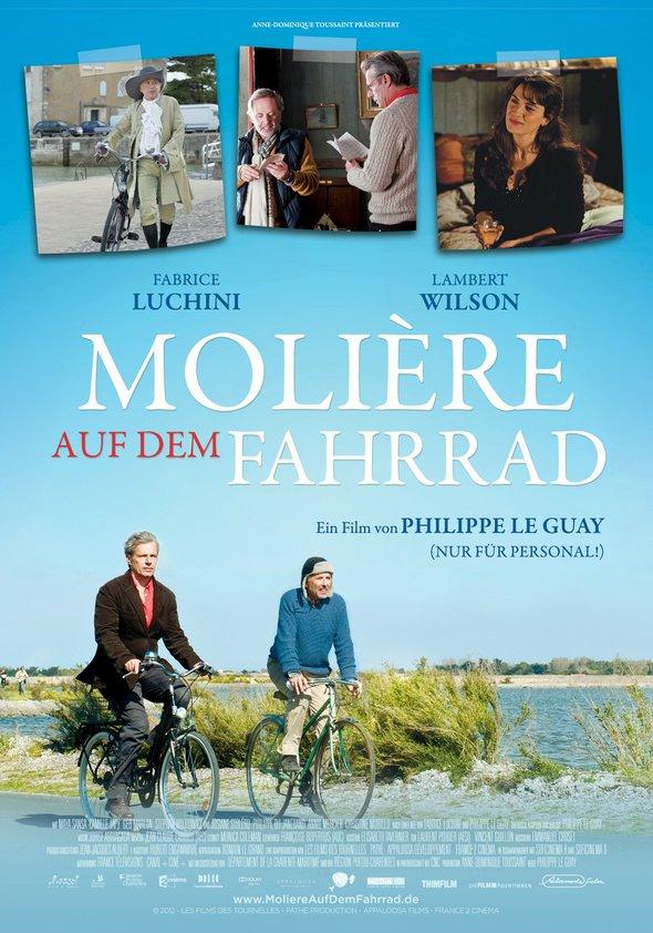 Molière auf dem Fahrrad Poster