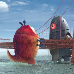 Monsters vs. Aliens - Trailer Poster