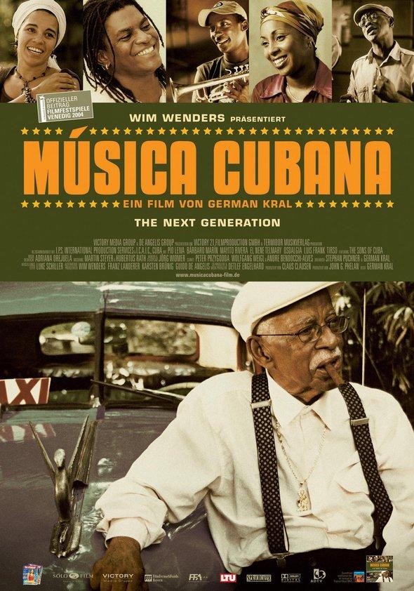 Música Cubana Poster