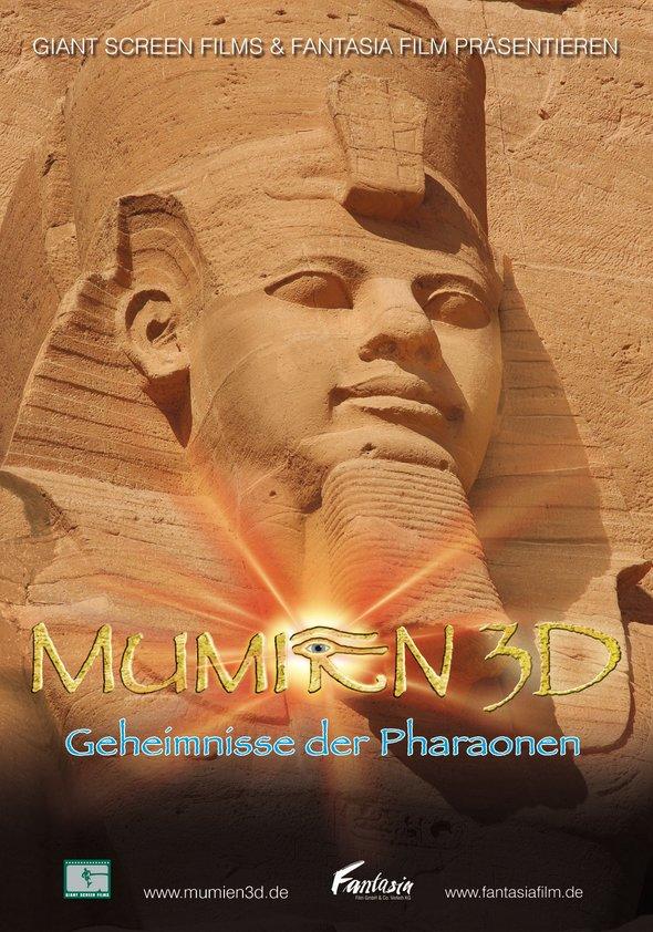 Mumien 3D - Geheimnisse der Pharaonen Poster