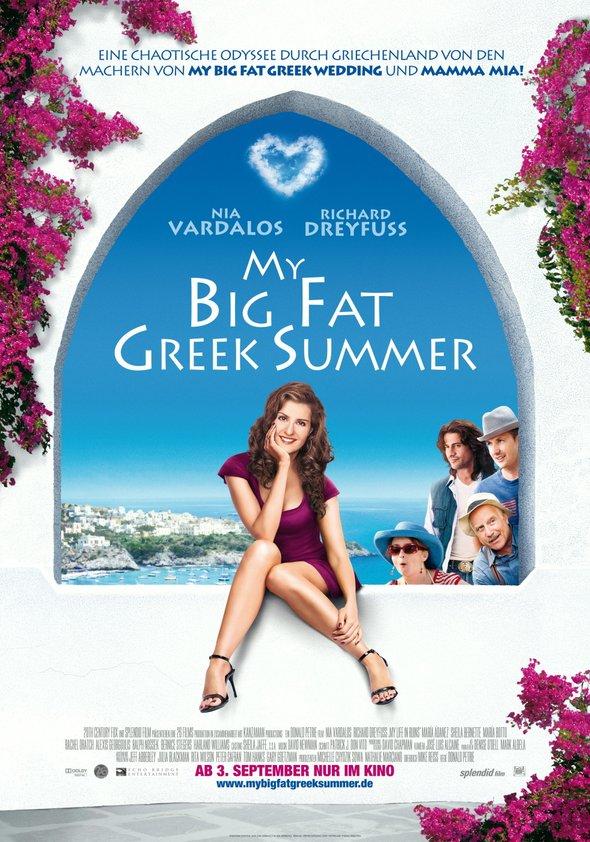 My Big Fat Greek Summer Poster
