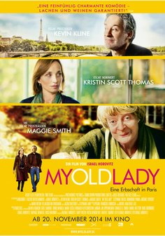 My Old Lady - Eine Erbschaft in Paris Poster
