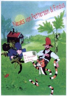 Neues von Pettersson und Findus Poster