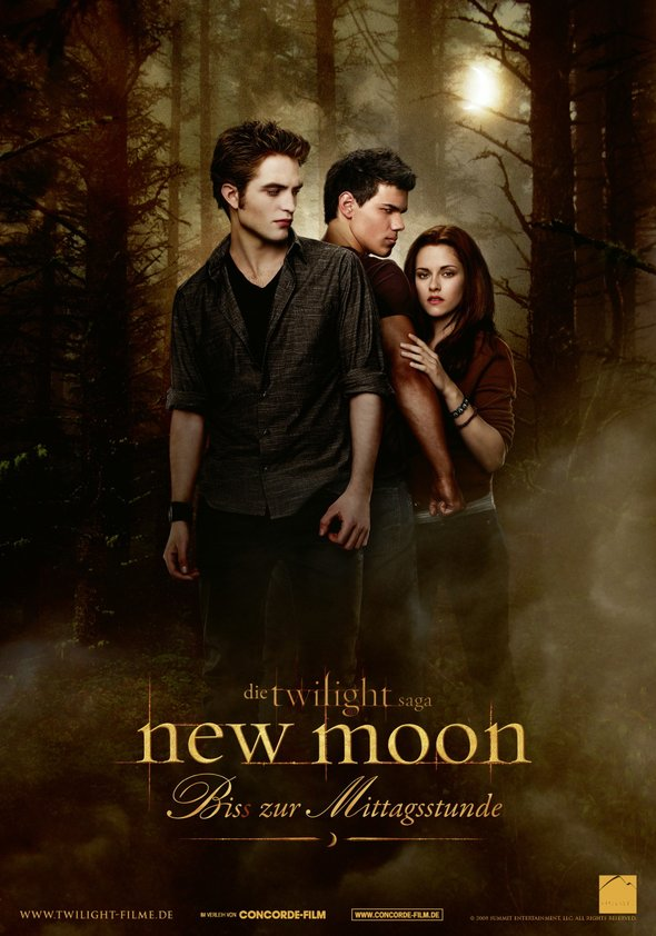 New Moon - Biss zur Mittagsstunde Poster