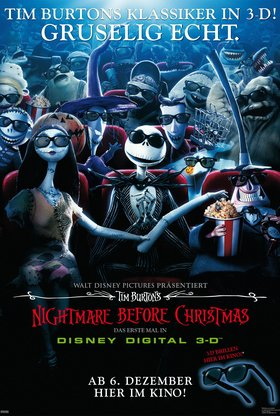 Nightmare Before Christmas 3D