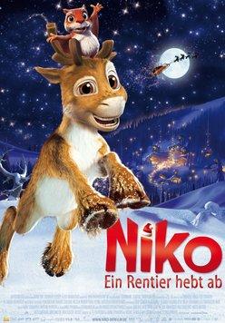 Niko - ein Rentier hebt ab Poster