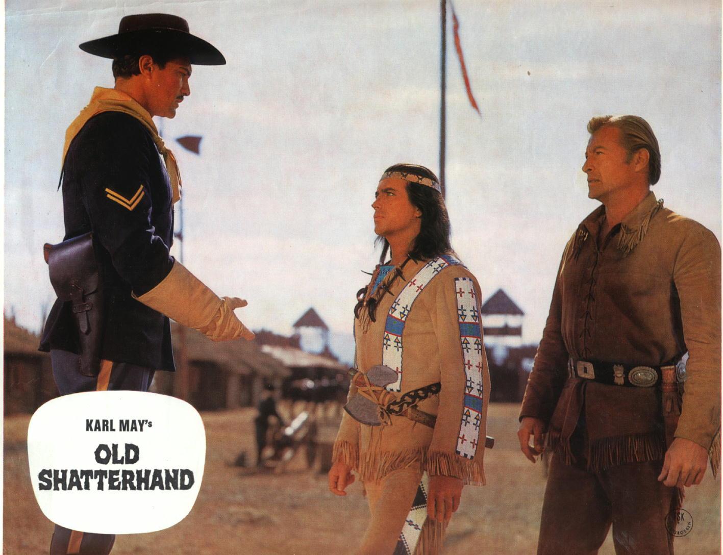 Old Shatterhand Film 1963 Trailer Kritik Kinode